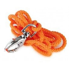 Acme Orange Nylon Lanyard With Steel Swivel Hook