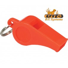 Basic Training Whistle-Orange-Packaged By D.T. Systems