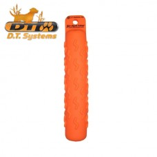 Small Soft Mouth Dog Training Dummy  - Blaze Orange  By D.T. Systems