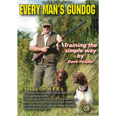Every Man's Gun Dog By Dave Fowler - DVD