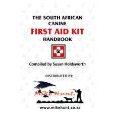 First Aid Pocket Book - The South African Canine First Aid Kit Handbook - Compiled by Susan Holdsworth