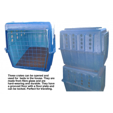 Dog Crate Large Fibre Glass