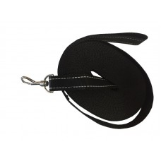 Check Cord Black 25mm x 30ft/9m Flat Reflective Strap