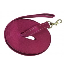 Check Cord Pink 25mm x 30ft/9m Flat Reflective Strap