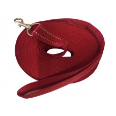 Check Cord Red 25mm x 30ft/9m Flat Reflective Strap