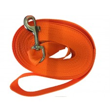 Check Cord Orange 9 meter 35mm x 30ft/9m Flat Strap