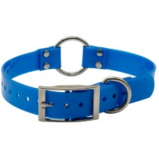 PVC Collar With Quick Attach Ring Large 65cm x 2.5cm Blue