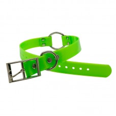 PVC Collar With Quick Attach Ring Large 65cm x 2.5cm Green