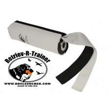 Canvas Dummy With Streamer - For Dummy Launcher - Black & White 10'' Long