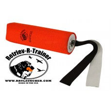Canvas Dummy With Streamer - For Dummy Launcher - Orange 10''
