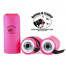 Canvas Dummy With Tail - For Dummy Launcher - Hot Pink